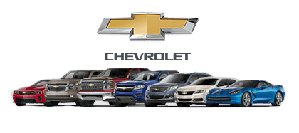 Lineup of Chevrolet vehicles for sale