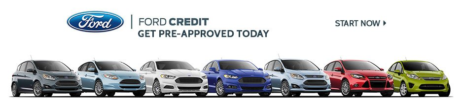 Get pre approved for ford credit today