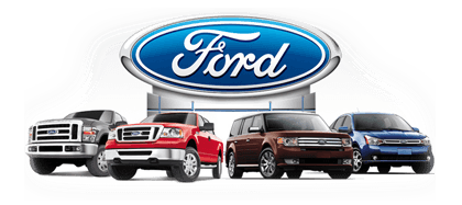 lineup of new Ford vehicles for sale in jacksonville