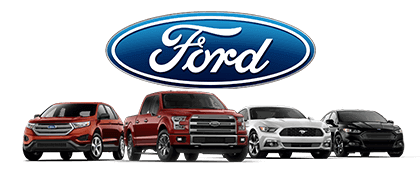 Some of the Ford vehicles for sale here at Shawnee Mission Ford