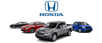 Some of the Honda vehicles for sale here at Duval Honda