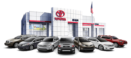 Some of the Toyota vehicles for sale here at Greg Miller Toyota