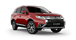 new red mitsubishi outlander suv in Norman OK