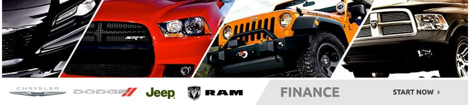 Auto financing on any new Chrysler Dodge Jeep RAM vehicle for sale