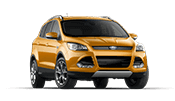 New gold Ford Escape SUV available at Karl Flammer Ford in Tarpon Springs.