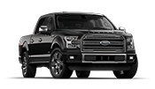 New black Ford F-150 pickup available at Karl Flammer Ford in Tarpon Springs.