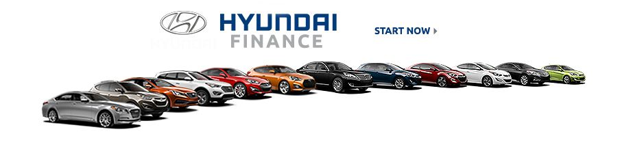 Auto financing on any new Hyundai vehicle for sale