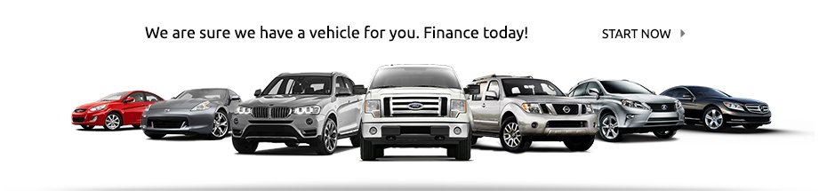 Auto financing on any new Preowned vehicle for sale