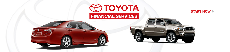 Auto financing on any new Toyota vehicle for sale